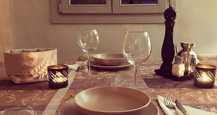 L'atmosfera della cena..