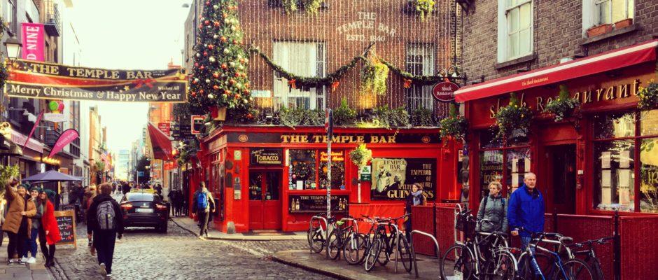 Dublino e la magia del Natale